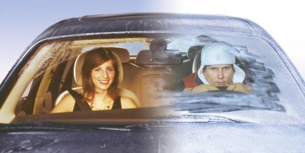 Почему замерзают окна в машине