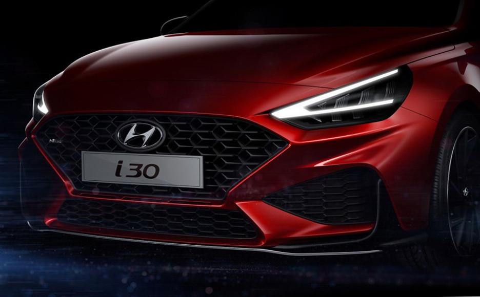 Рестайлинг Hyundai i30 2020 модельного года